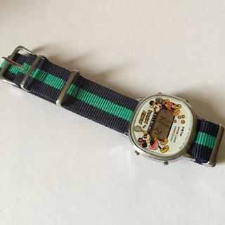 アルバ(ALBA)の80年代 オールドデジタルリメイク セイコー アルバ アニメメロディ(腕時計(デジタル))