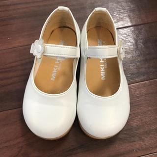 ミキハウス(mikihouse)のミキハウス 靴 15cm フォーマルシューズ 女の子 バレエシューズ 結婚式(フォーマルシューズ)