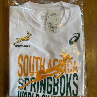 asics - ラグビーワールドカップ スプリングボクス 南アフリカ優勝記念Tシャツ Mサイズ