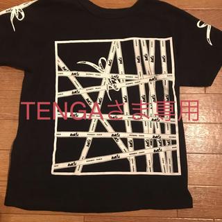 エルメス(Hermes)のリボン柄Tシャツ  黒(Tシャツ(半袖/袖なし))