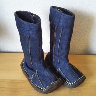 デニム ブーツ 14cm(ブーツ)
