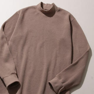 アダムエロぺ(Adam et Rope')のアダムエロペ  ワッフルモックネックプルオーバー(Tシャツ/カットソー(七分/長袖))