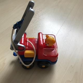 ミキハウス(mikihouse)のミキハウス くまさん消防車 ミニカー(ミニカー)
