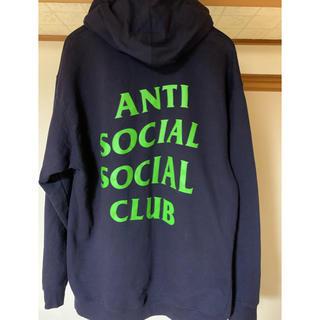 アンチ(ANTI)のANTI SOCIAL SOCIAL CLUB アンチソーシャル ロゴ パーカー(パーカー)