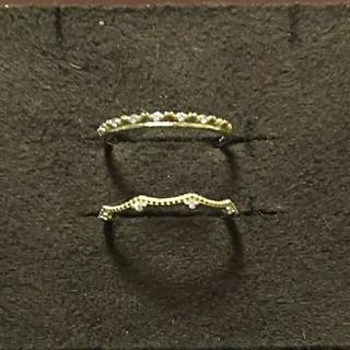 siena k10 イエローゴールドリング上のみ(リング(指輪))