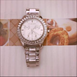 ジルスチュアート(JILLSTUART)のジルスチュアート シルバー 腕時計(腕時計)