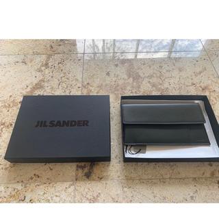 ジルサンダー(Jil Sander)の新品 Jil Sander ジルサンダー トラベルウォレット 財布 ブラック(財布)