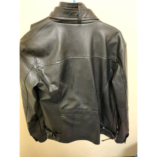ZARA(ザラ)の革ジャン メンズのジャケット/アウター(ライダースジャケット)の商品写真