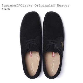 シュプリーム(Supreme)のSupreme/Clarks Originals Weaver Black(ブーツ)