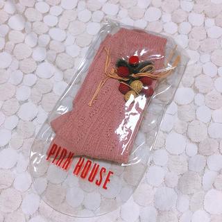 ピンクハウス(PINK HOUSE)のピンクハウス*いちごモチーフ 靴下 ショートソックス(ソックス)