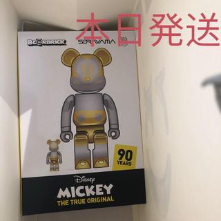 ディズニー(Disney)のBE@RBRICK FUTURE MICKEY 100% & 400% 2G(その他)