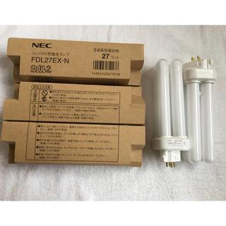 エヌイーシー(NEC)のNEC コンパクト形蛍光ランプ FDL27EX-N カプル2  5本(蛍光灯/電球)