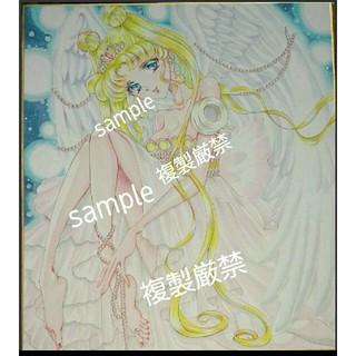 11/26新着☆セーラームーン セレニティ 手描きイラスト 色紙 うさぎ