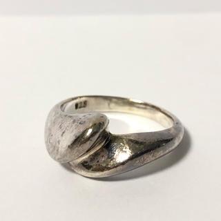 1699 シルバーリング  925 うねりデザイン 15号(リング(指輪))