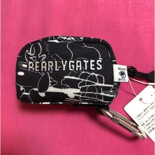 パーリーゲイツ(PEARLY GATES)の新品パーリーゲイツ スヌーピー コラボ ボールポーチ(ポーチ)