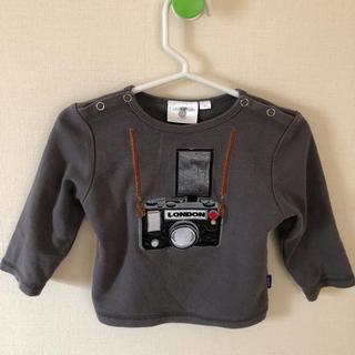 フタフタ(futafuta)のコーディーコービー カメラ柄 ロングT 長袖(Tシャツ)