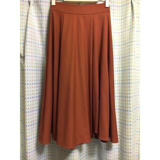 ニューヨーカー(NEWYORKER)のニューヨーカー購入★ウエストゴムミモレ丈スカート☆美品(ひざ丈スカート)