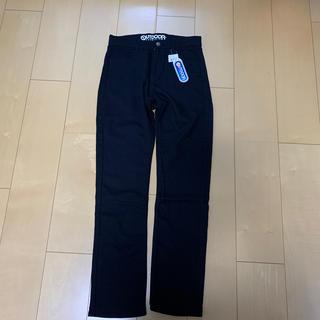 アウトドア(OUTDOOR)の160 黒 長ズボン 新品タグ付き アウトドア(パンツ/スパッツ)