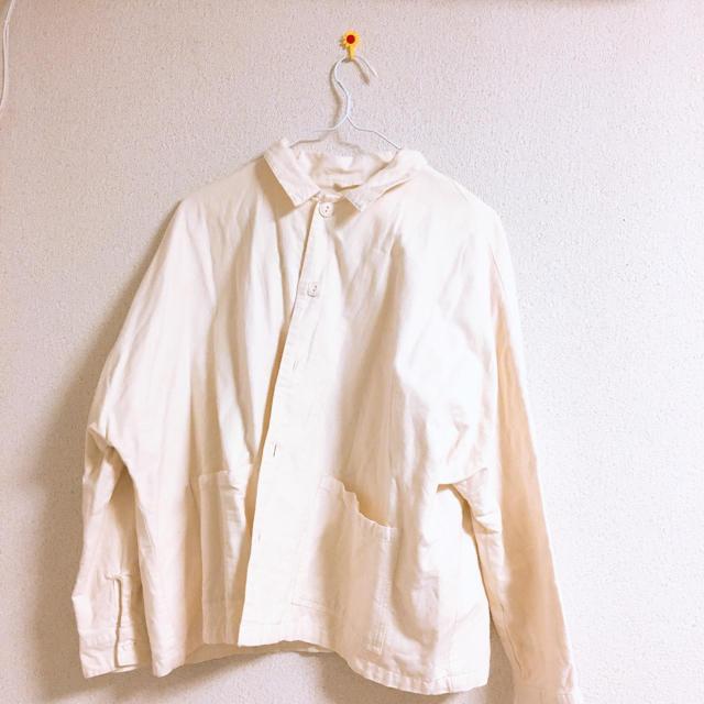 SM2(サマンサモスモス)のサマンサモスモス ホワイトジャケット レディースのジャケット/アウター(その他)の商品写真