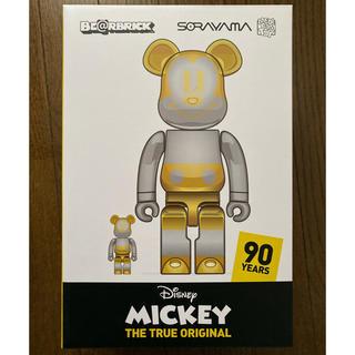 メディコムトイ(MEDICOM TOY)のBE@RBRICK FUTURE MICKEY 100% 400%(その他)