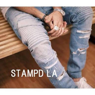 スタンプドエルエー(Stampd' LA)のスタンプド ダメージバイカーデニム(デニム/ジーンズ)