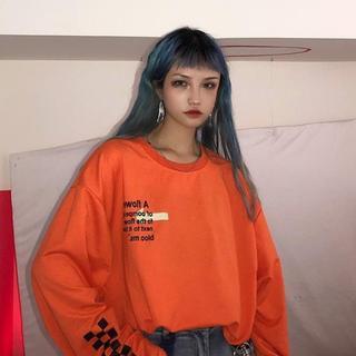 新品 これからの時期 ピッタリ ロングスリーブTシャツ(Tシャツ(長袖/七分))