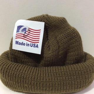 ロスコ(ROTHCO)のROTHCO  knitcap コヨーテ ロスコニット帽 ダークベージュ(ニット帽/ビーニー)