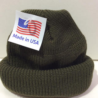 ロスコ(ROTHCO)のROTHCO  knitcap OLIVE アクリルニット帽 オリーブ(ニット帽/ビーニー)