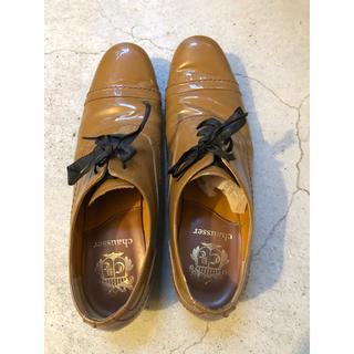 ショセ(chausser)のショセ  chausser  レザーレースアップシューズ  23.5(37)(ローファー/革靴)