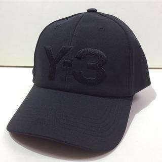 ワイスリー(Y-3)のY-3  CAP ワイスリー キャップ ブラック 新品(キャップ)