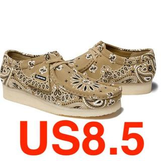 Supreme Clarks Bandana Wallabee US8.5
