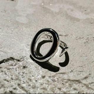 フリークスストア(FREAK'S STORE)のOval silver ring No.91(リング(指輪))