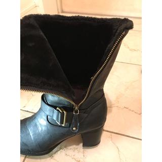 REGAL FAUVE ミドルブーツ 24cm 確認用(ブーツ)