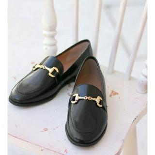 イエナスローブ(IENA SLOBE)の  MARION TOUFET ビット付きローファー(ローファー/革靴)