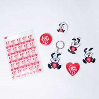 ジーディーシー(GDC)のVick  GDC Stickers Badges & Keychain Set(キーホルダー)