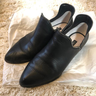センソユニコ(Sensounico)のsenso ショートブーツ 革靴 37(ブーツ)