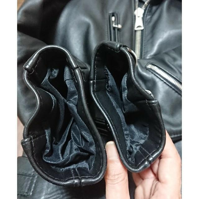 Lewis Leathers(ルイスレザー)のルイスレザー ライトニング 402T タイトフィット サイズ38 美中古 メンズのジャケット/アウター(ライダースジャケット)の商品写真