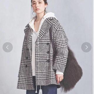 チェックビックPコート