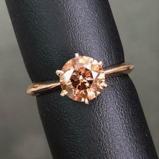 1.5カラット ブラウンダイヤモンド リング(リング(指輪))