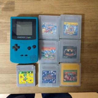 ゲームボーイ(ゲームボーイ)のゲームボーイカラー カセット7個セット(家庭用ゲームソフト)