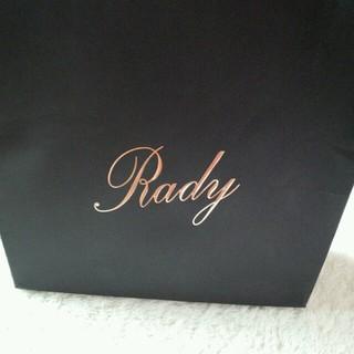 レディー(Rady)のRady紙袋(ラッピング/包装)