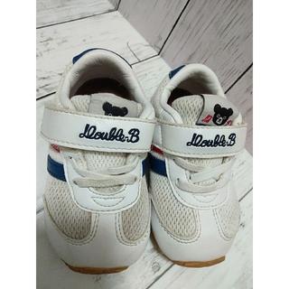 ダブルビー(DOUBLE.B)の◆ダブルビー◆14・ダブルビー・ミキハウス・スニーカー・靴(スニーカー)