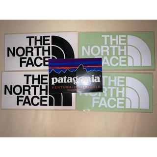 ザノースフェイス(THE NORTH FACE)のザノースフェイス ステッカー 白黒2枚セット パタゴニア1枚(ステッカー)