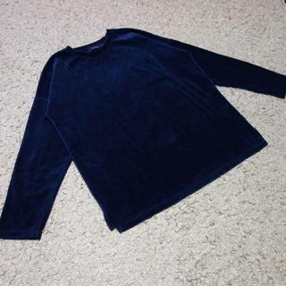 レイジブルー(RAGEBLUE)のRAGEBLUE/ベロアドロップクループルオーバー(Tシャツ/カットソー(七分/長袖))