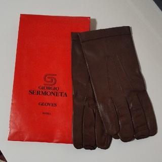 バーニーズニューヨーク(BARNEYS NEW YORK)のSERMONETA GLOVES セルモネータ グローブス(手袋)
