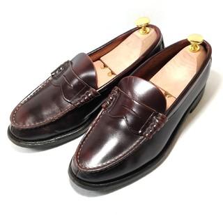 リーガル(REGAL)のREGAL リーガル / 茶 コインローファー 革靴 24.5cm EE(ドレス/ビジネス)