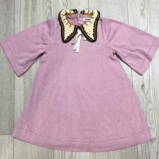 キャラメルベビー&チャイルド(Caramel baby&child )の美品 Misha&Puff ワンピース 2-3y(ワンピース)