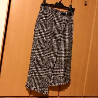 スライ(SLY)のSLY 巻きスカート 美品(ひざ丈スカート)