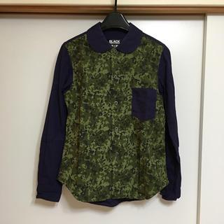 コムデギャルソン(COMME des GARCONS)の長袖シャツ ブラック コムデギャルソン(シャツ/ブラウス(長袖/七分))
