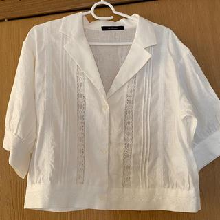 ダブルクローゼット(w closet)のw closet 半袖シャツ(シャツ/ブラウス(半袖/袖なし))